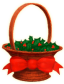 Christmas Basket (public domain)